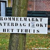 Rommelmarkt in het Tehuis Nieuwe Pekela - Foto's Harry Wolterman