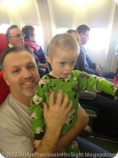 Cooper and Conner travel HOME Kiev to Austin 1676