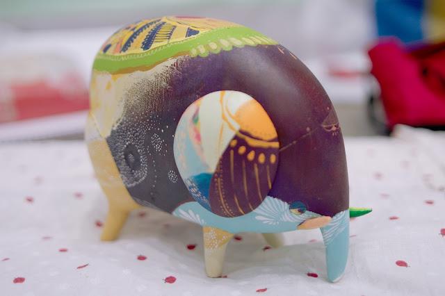 絵動物 | norarikurari clay + monogocoro