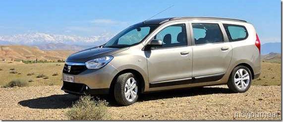 Dacia Lodgy testdagen 16
