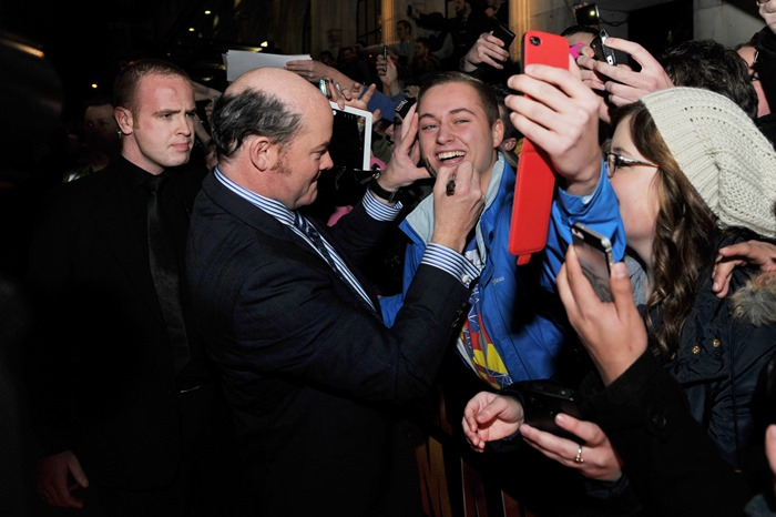 Dublin – 9th December 2013: David Koechner attend the Dublin Premiere of Anchorman 2 – Credit: Clodagh Kilcoyne for Paramount Pictures International via Getty Images