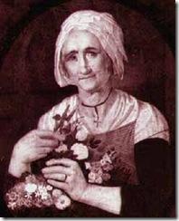 Ritratto di vecchia (elaboraz. da P.Vergine 1800-1863)