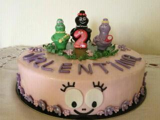 torta barbapapa'