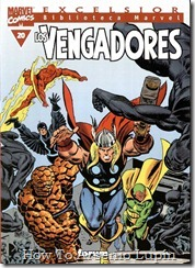 P00020 - Biblioteca Marvel - Avengers #20