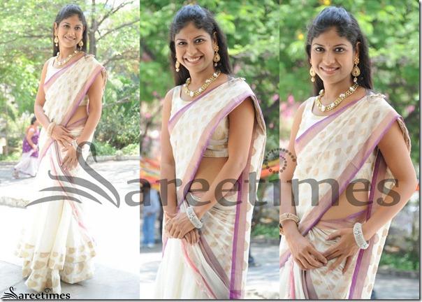 Priya_White_Half_Saree