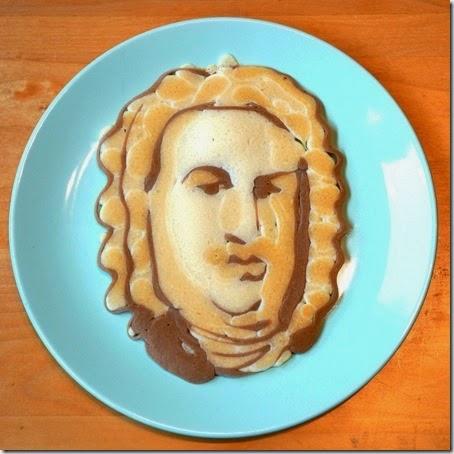 J.S. Bach pancake