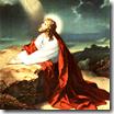 Исус в Гетсимания