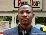 Ambroise Mamba. Radio Okapi/ Ph. John Bompengo