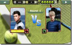 يمكنك إختيار الشخصيات التى تفضلها بين لاعبى تنس متعددين