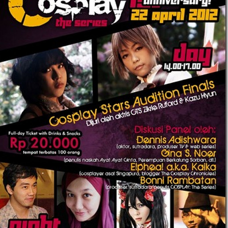 Cosplay: The Series 1st Anniversary Event (Bandung, Indonesia)