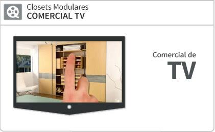 Closets Modulares COMERCIAL TV