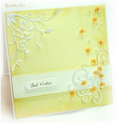 Lather and Vellum paper By anaRy