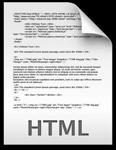 html white