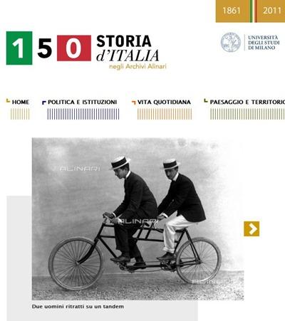 150 anni di storia d'Italia attraverso le foto della fondazione Alinari
