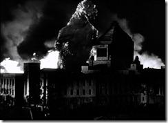 Gojira Attacks the Diet Building
