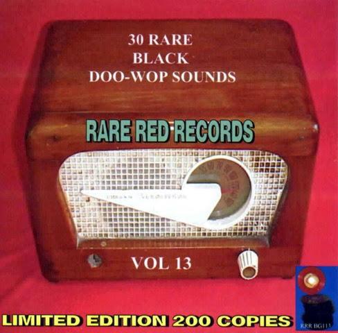 Rare Black Doo-Wop Sounds Vol. 13 - 31 - Front