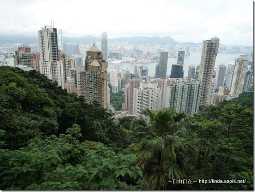 白天的香港景色