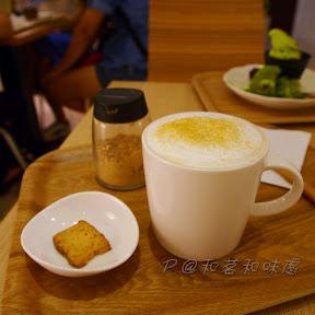 焙茶拿鐵 @ 和茗甘味處