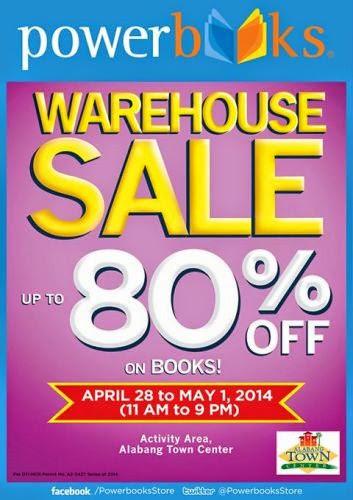 Powerbooks Warehouse Sale 2014