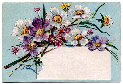 floral card vintage image graphicsfairy001