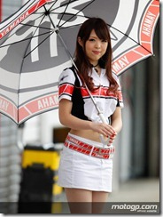 Paddock Girls Grand Prix of Japan 02 October 2011 Motegi Japan (5)