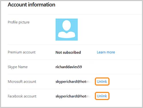 how to open skype id