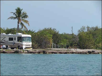heading back to Bahia Honda SP campground