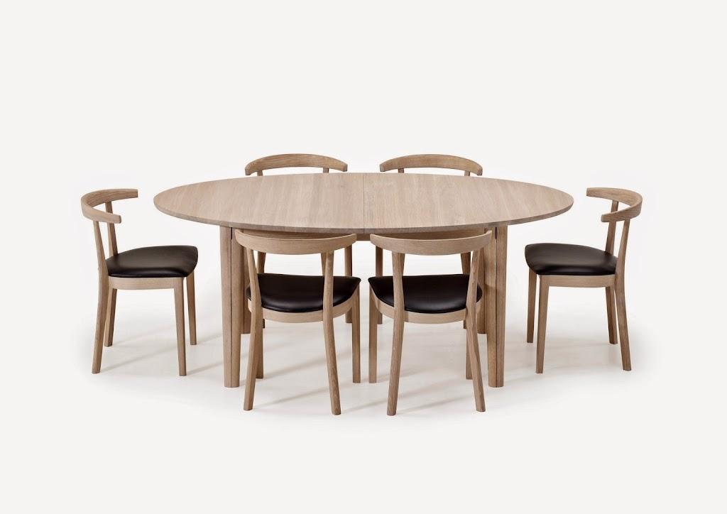 ovale tafel 78 van skovby. Black Bedroom Furniture Sets. Home Design Ideas