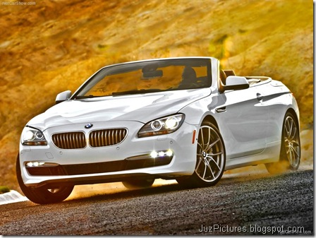 BMW 650i Convertible 1