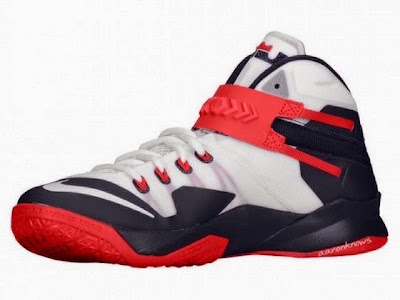nike zoom soldier 8 gr usa basketball 1 02 Upcoming Nike Zoom Soldier VIII USAB With Zip up Strap System
