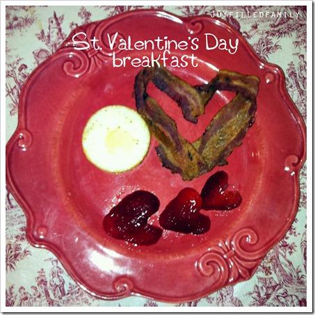 st. valentine breakfast