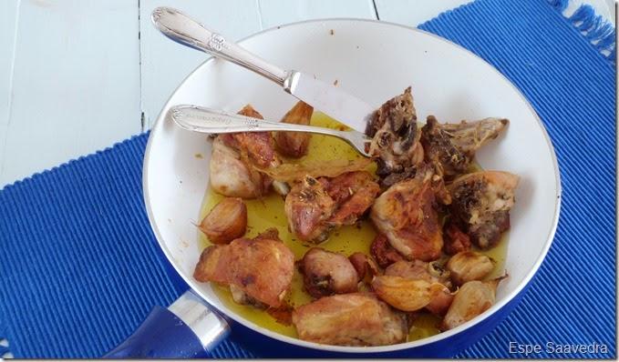 pollo ajillo espe saavedra