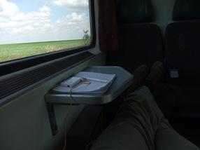 tren Belgrado - Budapest