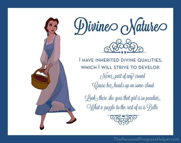Young Women Value Disney Princess Posters | Divine Nature: Belle