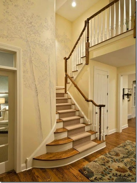 Awesome Traditional Staircase Design 2012 Parade of Homes Showhouse