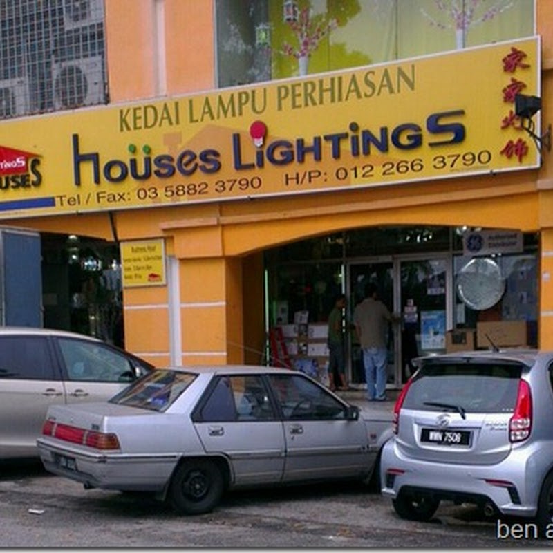 Houses of Lightings .. Murah eh ?