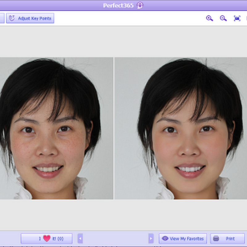 Perfect365: Free Automated Photo Retouching Software