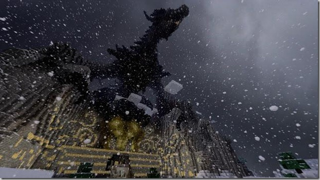 The Elder Scrolls V MineRim- Fall of Skyrim Screenshot 6