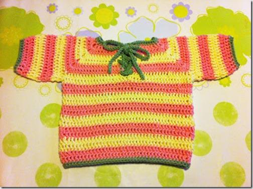 made by cecilia virkad tröja