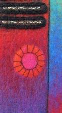 Fotoalbum mit Filzeinband Detail 1