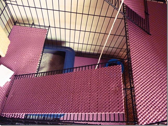cat cage mat