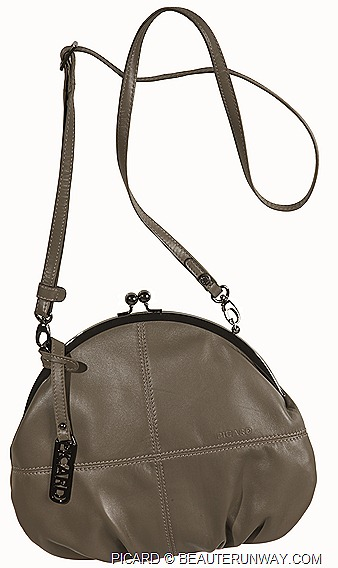PICARD LEATHER BAGS Bergamo lambskin sling evening SPRING SUMMER 2012 MENS & WOMEN bags totes sling,handbags, clutch accessories