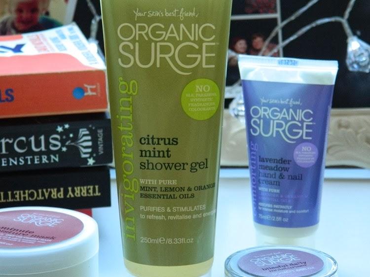 Organic Surge Citrus Mint Shower Gel