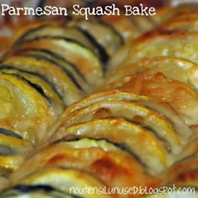 parmesan squash bake