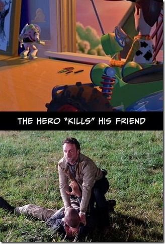 Walking Dead v Toy Story 7