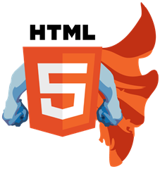 HTML5-Super-Hero-Logo