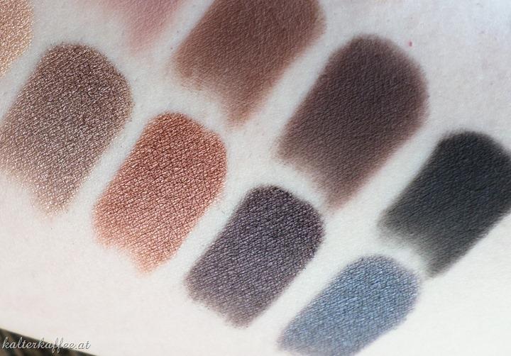 LORAC Pro Palette Swatches