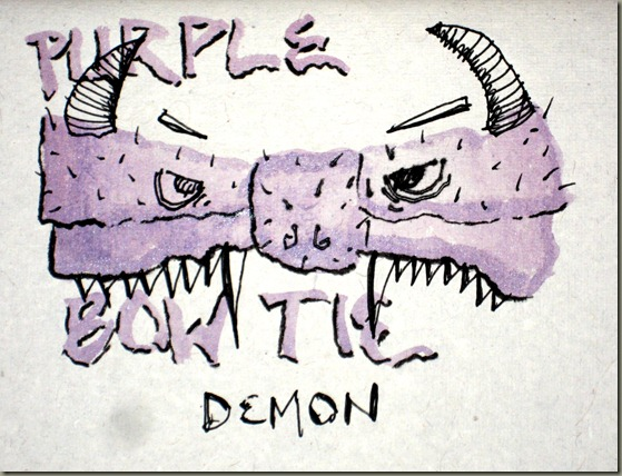 Purple Bowtie Demon