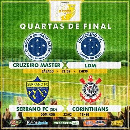 QUARTAS DE FINAL I - Copa do Povo 2014-2015 - CAMPO REDONDO - 21 E 22 - WESPORTES - FABIOSPORTS - FMVALEDASSERRAS - PORTAL
