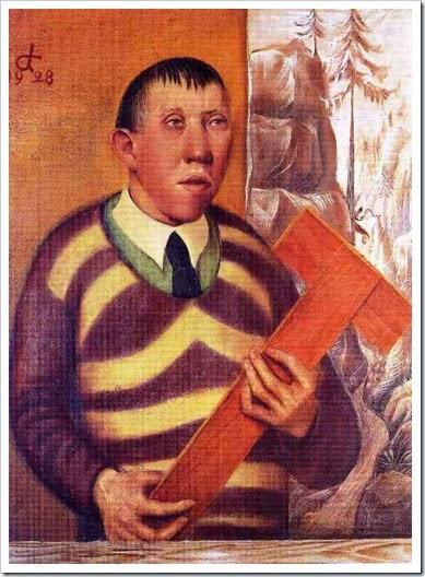 Otto Dix, Ritratto del pittore Franz Radziwill